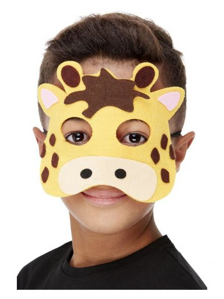 Childs Felt Giraffe Mask